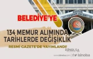 Samsun Büyükşehir Belediyesi 134 Memur Alımında...