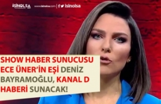 Show Haber Sunucusu Ece Üner'in Eşi Kanal D...
