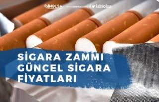 Sigara Zammı Kararı Sonrası Güncel Sigara Fiyatları...