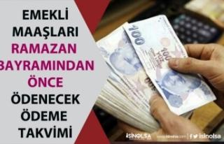 SSK, Bağkur Emekli Sandığı Emekli Maaşları Bayram...