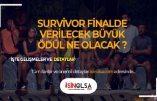 Survivor'da Finalde Verilecek Büyük Ödül Ne...
