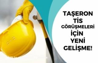 Taşeron İşçi Maaş Zammı, TİS Görüşmesi İçin...
