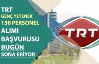 TRT KPSS'siz Personel Alımı Başvurusu Bitiyor!...