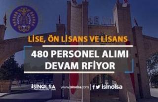 Atatürk Üniversitesi Hastaneye 480 Personel Alımı...