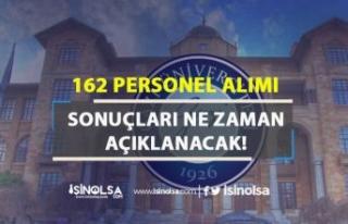 Gazi Üniversitesi 162 Personel Alımı Sonuçları...