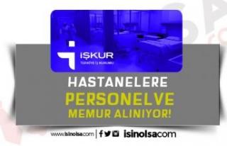 Hastanelere KPSS'siz Sınavsız 360 Sağlık Personeli...
