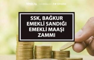 SSK, Bağkur, Emekli Sandığı Temmuz Emekli Maaş...