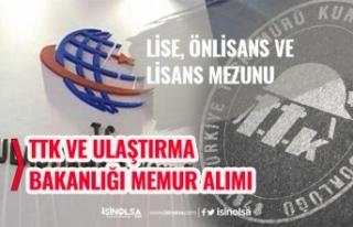TTK ve Ulaştırma Bakanlığı Lise, Önlisans ve...