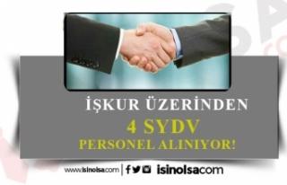 4 SYDV Büro, Temizlik ve Güvenlik Görevlisi Alacak!
