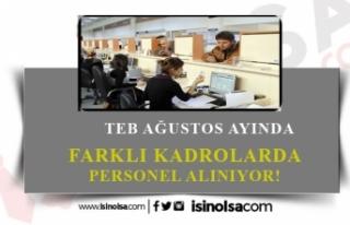 Ağustos Ayı TEB Bankası İş İlanları!