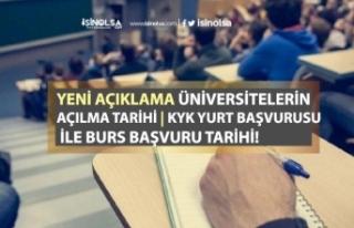 KYK Yurt ve Burs Başvuru Tarihi! Üniversiteler Ne...