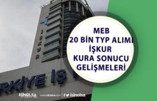 MEB Okullara İŞKUR TYP ile 20 Bin Personel Alımı...