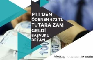 PTT'den Ödenen 672 Tl Tutara Zam Geldi! Başvuru...