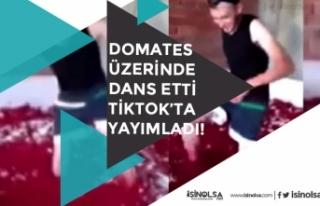 Salça Fabrikasında Domateslerin Üzerinde Dans Etti...
