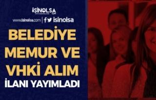 Şırnak Belediyesi KPSS 65 Puan İle Memur Alıyor(...