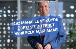 Ankara Belediyesi Türksat ile Köylere'de Ücretsiz...