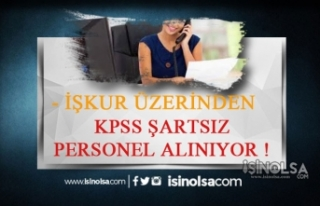 Belediyelere KPSS Şartsız İşçi Alınıyor!