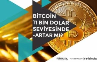 Bitcoin 11.000 Dolar Seviyesine Geldi! Bitcoin Artar...