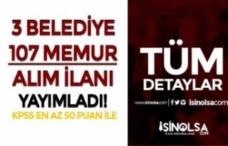 Bugün Yayımlandı! Belediyelere 107 Zabıta, İtfaiyeci...