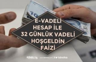 E-Vadeli Hesap Faiz Listesi Açıklandı! Dolar, TL...