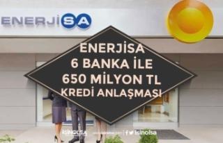 Enerjisa 7 Banka İle 650 Milyon TL'lik Sözleşme...