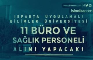 Isparta Uygulamalı Bilimler Üniversitesi 11 Sağlık...