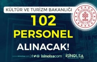 Kültür ve Turizm Bakanlığı 3 Şehir'de 102...