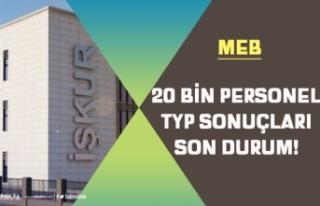 MEB 20 Bin İŞKUR TYP Personel Alımı Sonuçları...