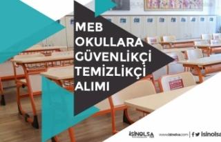 MEB Okullara Eylül TYP ilanı ile KPSS'siz Personel...