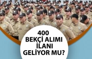 PA Polis Alım Duyuruları Yayımlıyor! 400 Bekçi...