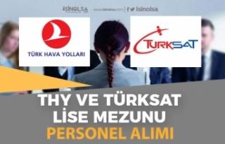 Türk Hava Yolları ve Türksat'a Müşteri Temsilcisi...