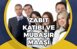 2020 Zabıt Katibi ve Mübaşir Maaşları Nedir?