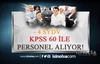 Sosyal Yardımla Vakfı 4 İlde 60 KPSS ile İnceleme...
