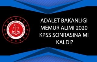 Adalet Bakanlığı Memur Alımı 2020 KPSS Sonrasına...