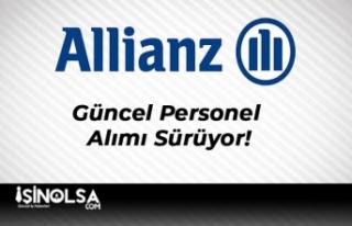 Allianz Sigorta Güncel Personel Alımı Sürüyor!