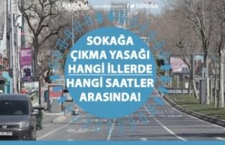 Başkan Erdoğan Açıklamıştı! Sokağa Çıkma...