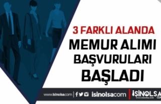 Belediyeye 2018 KPSS Puanı İle, Zabıta, Personel...