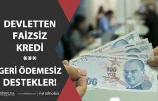 Devletten Faizsiz Kredi! Geri Ödemesiz Destekler!...