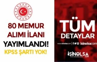 Dışişleri Bakanlığı 80 Aday Konsolosluk, İhtisas...