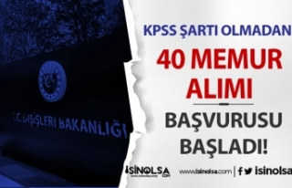 Dışişleri Bakanlığı KPSS Siz 40 Meslek Memur...