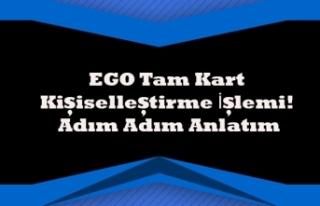 EGO Tam Kart Kişiselleştirme İşlemi! Adım Adım...