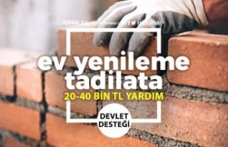 Ev Yapımı ve Onarımı Devlet Desteği! 20-40 Bin...