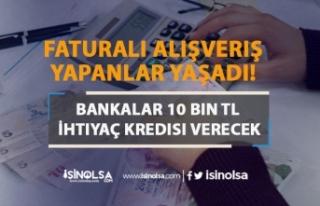 Faturalı Alışveriş Yapanlar Yaşadı! Bankalar...