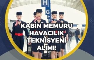 Havayolları Firması Kabin Memuru ve Uçak Bakım...