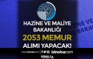 Hazine ve Maliye Bakanlığı 2020 Yılı İçin 2...
