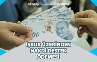 İŞKUR Ekim Ayı Nakdi Destek Ücreti Ödemesi Müjdesi!