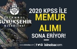 İstanbul Büyükşehir Belediyesi KPSS A Grubu Puan...