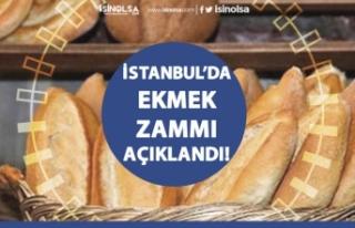 İstanbul'da Ekmeğe Yüzde Yirmi Zam Onaylandı!...