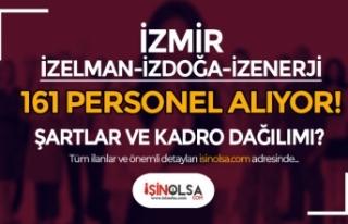 İzmir İZDOĞA, İZELMAN ve İZENERJİ 161 Personel...