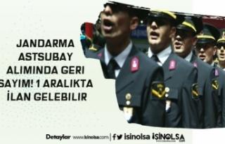 Jandarma Astsubay Alımında Geri Sayım! 1 Aralıkta...